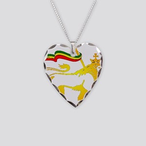 KING OF KINGZ LION Necklace Heart Charm