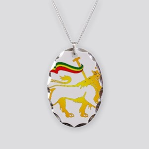 KING OF KINGZ LION Necklace Oval Charm