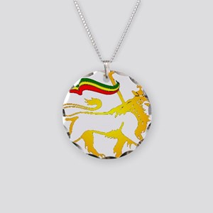 KING OF KINGZ LION Necklace Circle Charm