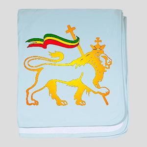 KING OF KINGZ LION baby blanket