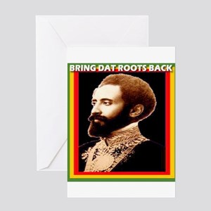 Lion of judah greeting cards cafepress bring dat roots rasta greeting card m4hsunfo
