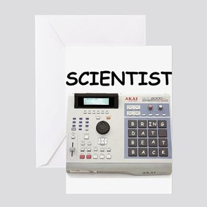 SCIENTIST Greeting Card