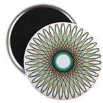 Spirograph Daisy Tunnel Magnet