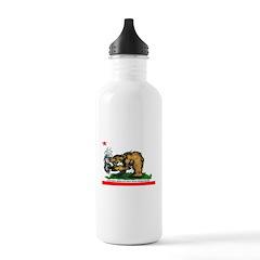 CALIFORNIA BRING DAT BEAT BAC Water Bottle