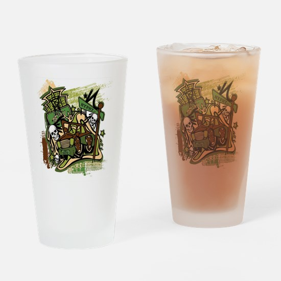 (HYPHY) GHOST RIDE THE WHIP Drinking Glass
