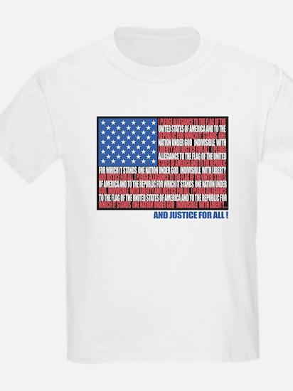 USA Eagle-Flag Kids T-Shirt
