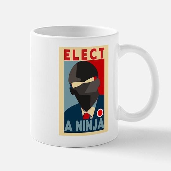 Elect A Ninja Mug