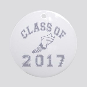 Class Of 2017 Track & Field Ornament (Round)