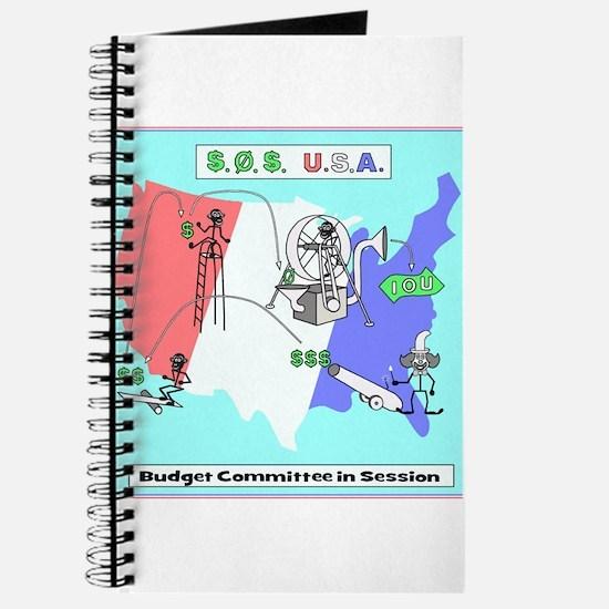 Budget Humor Art Journal