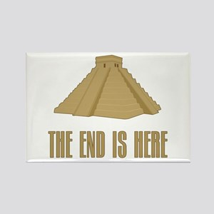 The End is Here Rectangle Magnet