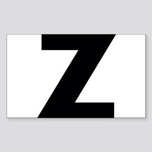 Letter Z Sticker (Rectangle)