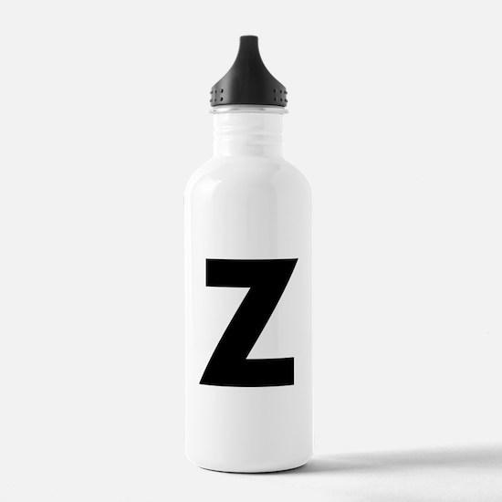 Letter Z Water Bottle