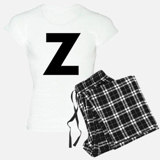 Letter Z Pajamas