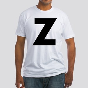 Letter Z Fitted T-Shirt