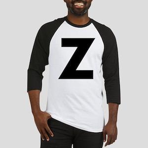 Letter Z Baseball Jersey