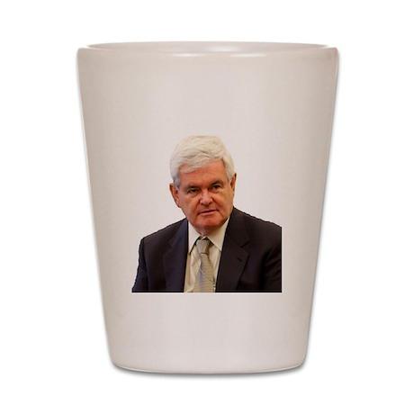 Newt Gingrich Shot Glass