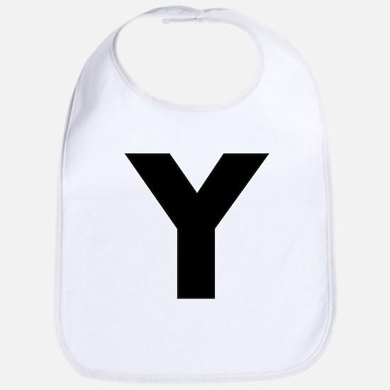 Letter Y Bib