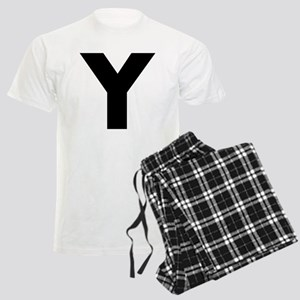 Letter Y Men's Light Pajamas