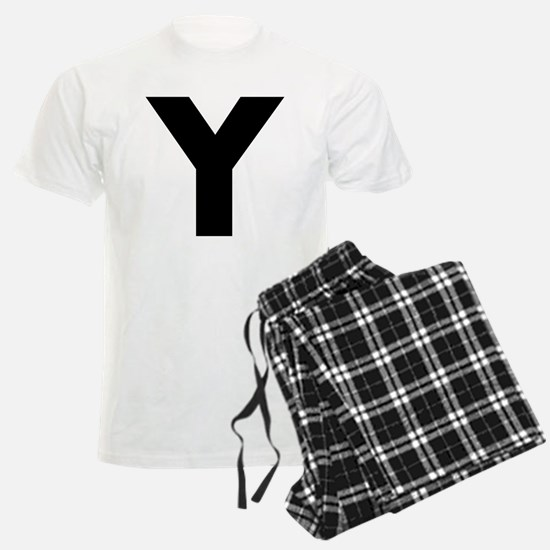 Letter Y Pajamas