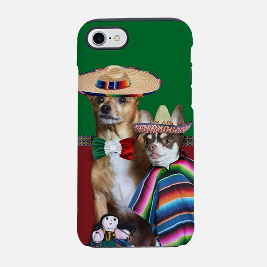 Mexican Chihuahua Dogs iPhone 7 Tough Case