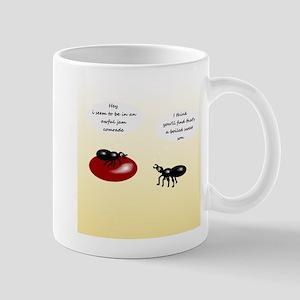 In a Jam, Mug