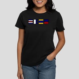 nautical cade Women's Dark T-Shirt