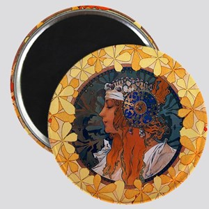 Byzantine Blonde Head Magnet