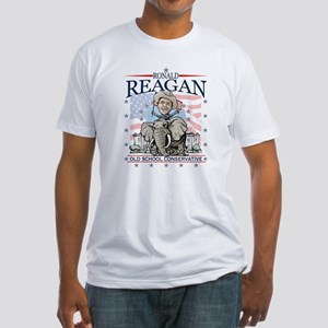 Ron Reagan GOP Elephant Fitted T-Shirt