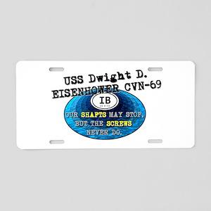 IKE BITES Aluminum License Plate