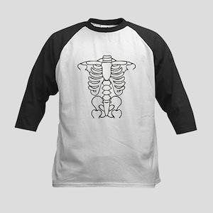 Skeleton Kids Baseball Jersey