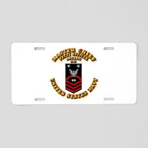 Signalman (SM) Aluminum License Plate