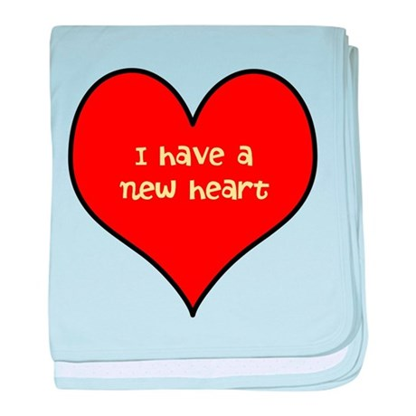 I have a new heart baby blanket