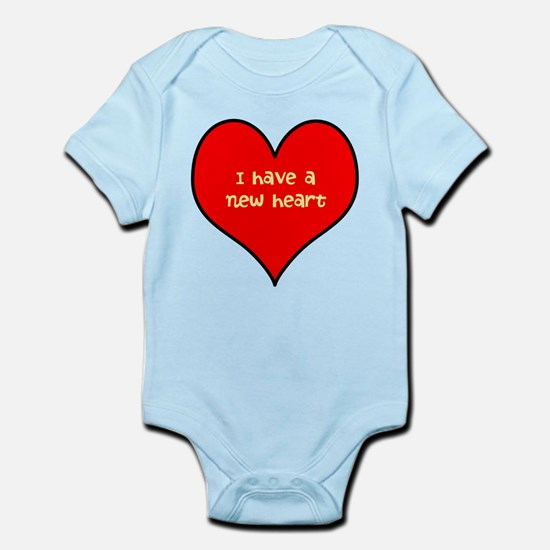 I have a new heart Infant Bodysuit