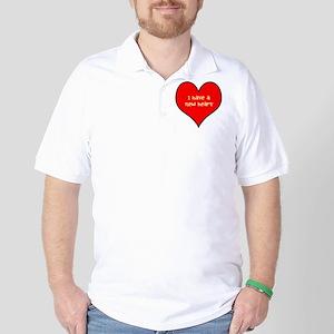 I have a new heart Golf Shirt