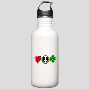 Love Peace Clover Stainless Water Bottle 1.0L