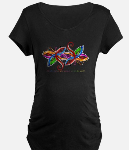 laptop_skin Maternity T-Shirt