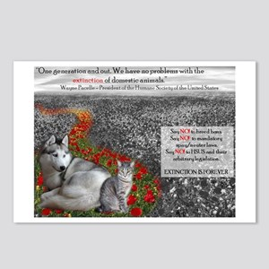 Say NO to the HSUS!! Postcards (Package of 8)