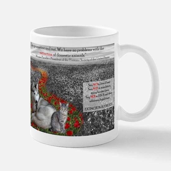 Say NO to the HSUS!! Mug