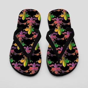 Fleur de love Flip Flops
