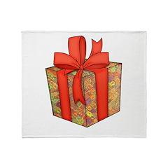 Novelty Gift Box Throw Blanket