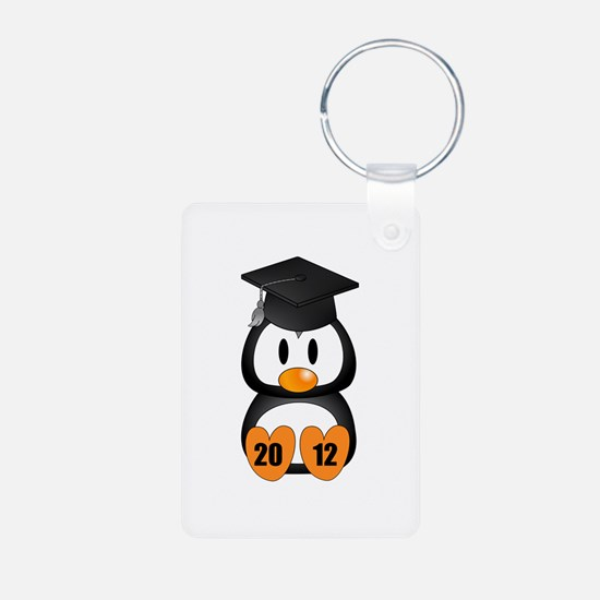 Custom Gradution Penguin Keychains