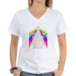 Trekkies Women's V-Neck T-Shirt