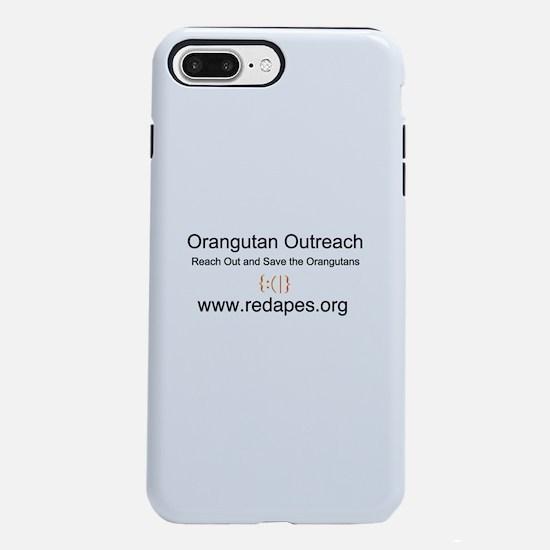 Orangutan Outreach iPhone 7 Plus Tough Case