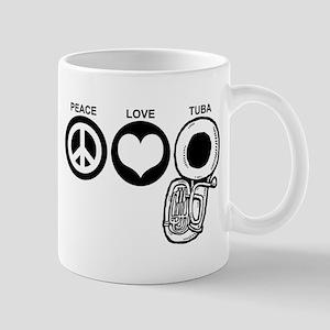 Peace Love Tuba Mug