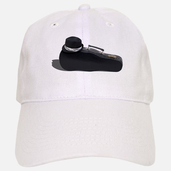 Black Fedora Music Case Baseball Baseball Cap