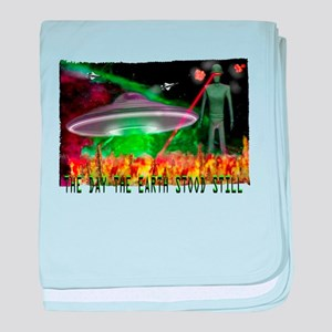the day the earth stood still baby blanket