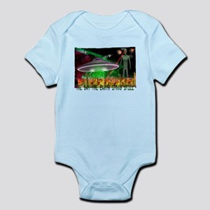the day the earth stood still Infant Bodysuit