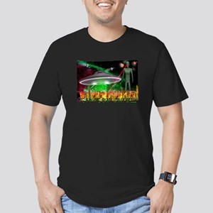 the day the earth stood still Men's Fitted T-Shirt