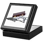 Briefcase on Gurney Keepsake Box
