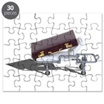 Briefcase on Gurney Puzzle